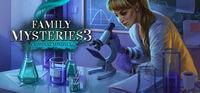 Portada oficial de Family Mysteries 3: Criminal Mindset para PC