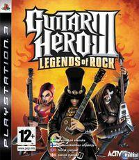 Portada oficial de Guitar Hero 3 para PS3