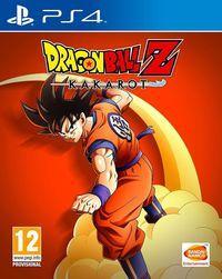 Portada oficial de Dragon Ball Z: Kakarot para PS4
