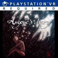 Portada oficial de Anyone's Diary para PS4