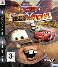Portada oficial de Cars Mater-National para PS3
