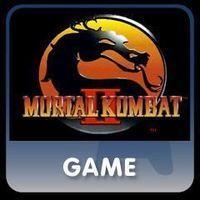 Portada oficial de Mortal Kombat II PSN para PS3