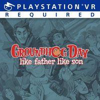 Portada oficial de Groundhog Day: Like Father Like Son para PS4