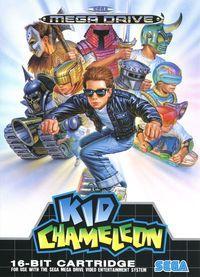 Portada oficial de Kid Chameleon CV para Wii