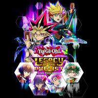 Portada oficial de Yu-Gi-Oh! Legacy of the Duelist: Link Evolution para Switch