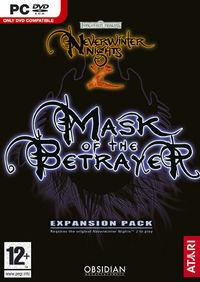Portada oficial de NeverWinter Nights 2 : Mask of the Betrayer para PC