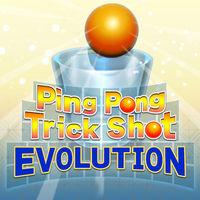 Portada oficial de Ping Pong Trick Shot EVOLUTION para Switch