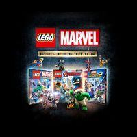 Portada oficial de LEGO Marvel Collection para PS4