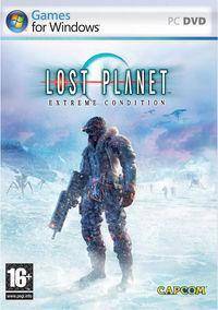 Portada oficial de Lost Planet: Extreme Condition para PC