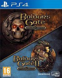 Portada oficial de Baldur's Gate and Baldur's Gate II: Enhanced Editions para PS4