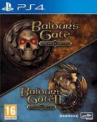 Portada oficial de de Baldur's Gate and Baldur's Gate II: Enhanced Editions para PS4