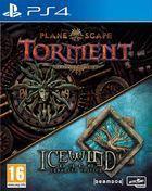 Portada oficial de de Planescape: Torment and Icewind Dale: Enhanced Editions para PS4