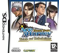 Portada oficial de Phoenix Wright: Ace Attorney Trials and Tribulations para NDS