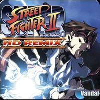 Portada oficial de Super Street Fighter II Turbo HD Remix PSN para PS3