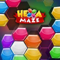 Portada oficial de Hexa Maze para Switch