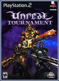 Portada oficial de Unreal Tournament (2001) para PS2