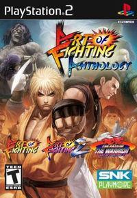 Portada oficial de Art of Fighting Anthology para PS2