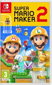 Portada oficial de Super Mario Maker 2 para Switch