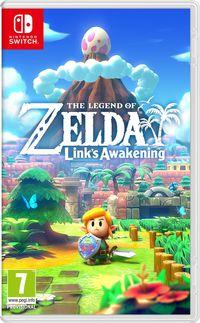 Portada oficial de The Legend of Zelda: Link's Awakening para Switch