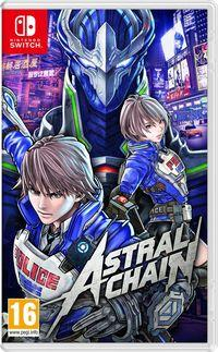 Portada oficial de Astral Chain para Switch