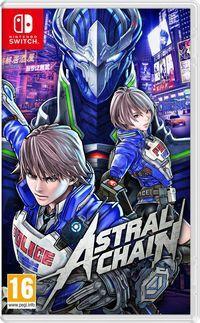 Portada oficial de Astral Chain para Switch