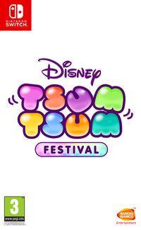 Portada oficial de Disney Tsum Tsum Festival para Switch