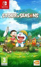 Portada oficial de de Doraemon Story of Seasons para PC