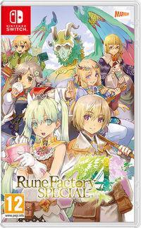 Portada oficial de Rune Factory 4 Special para Switch