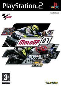 Portada oficial de MotoGP 07 para PS2
