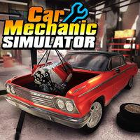 Portada oficial de Car Mechanic Simulator para Switch