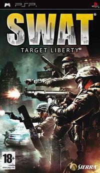 Portada oficial de SWAT: Target Liberty para PSP