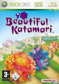 Portada oficial de Beautiful Katamari Damacy para Xbox 360