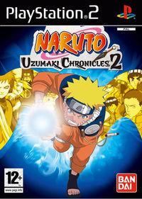 Portada oficial de Naruto: Uzumaki Chronicles 2 para PS2