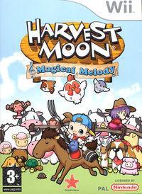 Portada oficial de Harvest Moon: Magical Melody para Wii