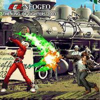 Portada oficial de NeoGeo The King of Fighters 2003 para Switch