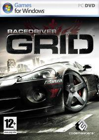 Portada oficial de Race Driver: GRID para PC