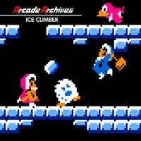 Portada oficial de Arcade Archives Ice Climber para Switch