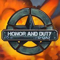 Portada oficial de Honor and Duty: D-Day para PS4