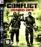 Portada oficial de de Conflict: Denied Ops para PS3