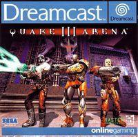 Portada oficial de Quake 3 Arena para Dreamcast
