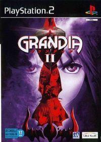 Portada oficial de Grandia II para PS2
