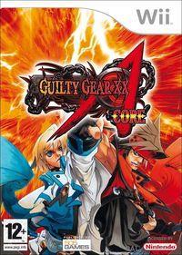 Portada oficial de Guilty Gear X2 Accent Core para Wii