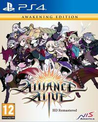 Portada oficial de The Alliance Alive HD Remastered para PS4