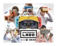 Portada oficial de Nintendo Labo Toy-Con 04: VR Kit para Switch