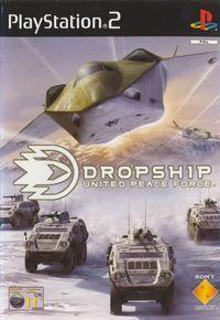 Portada oficial de Dropship para PS2