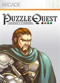 Portada oficial de Puzzle Quest: Challenge of the Warlords XBLA para Xbox 360