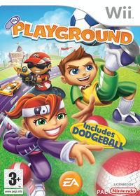 Portada oficial de EA Playground para Wii