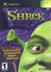 Portada oficial de Shrek para Xbox