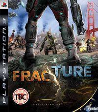 Portada oficial de Fracture para PS3