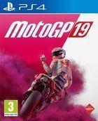 Portada oficial de de MotoGP 19 para PS4